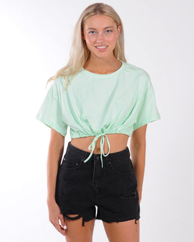 Lets Celebrate Keyhole Knit Top - Blue