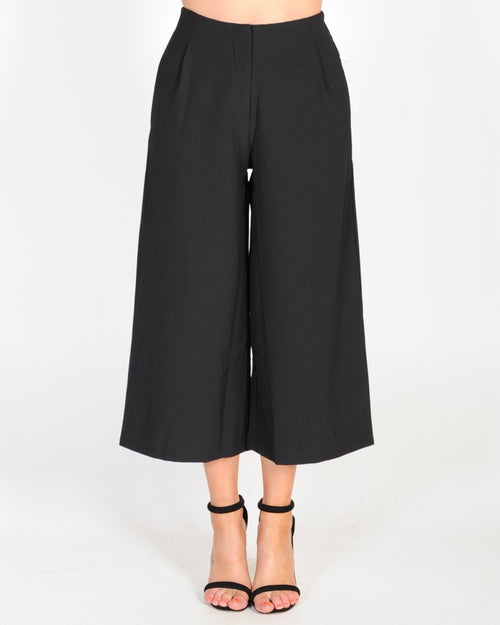 BACK ON TRACK PANT - BLACK