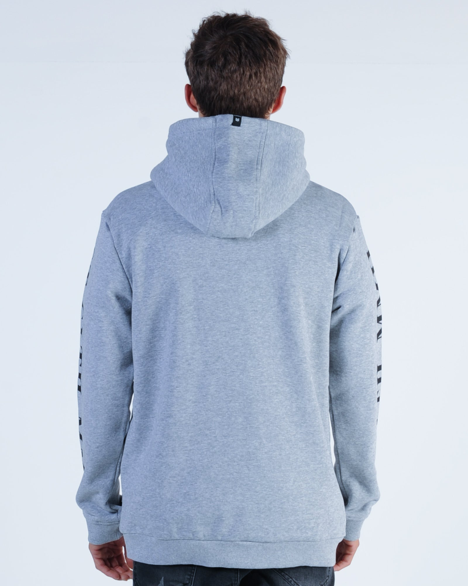 St. Goliath Disc Hood Sweat - Grey Marle