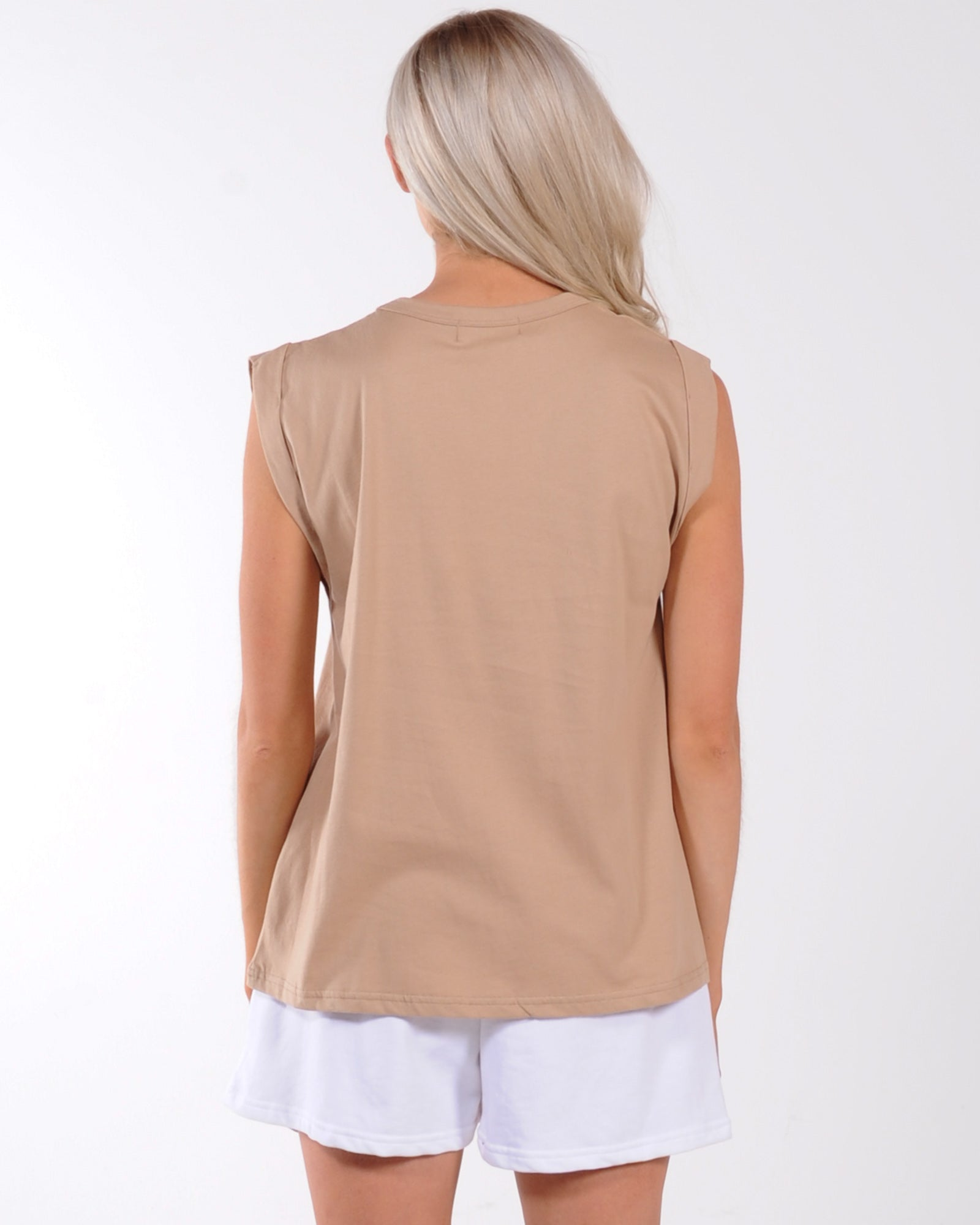 Madison The Label Madison Tank - Mocha