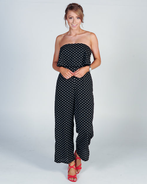 Lift Me Up Jumpsuit - Black