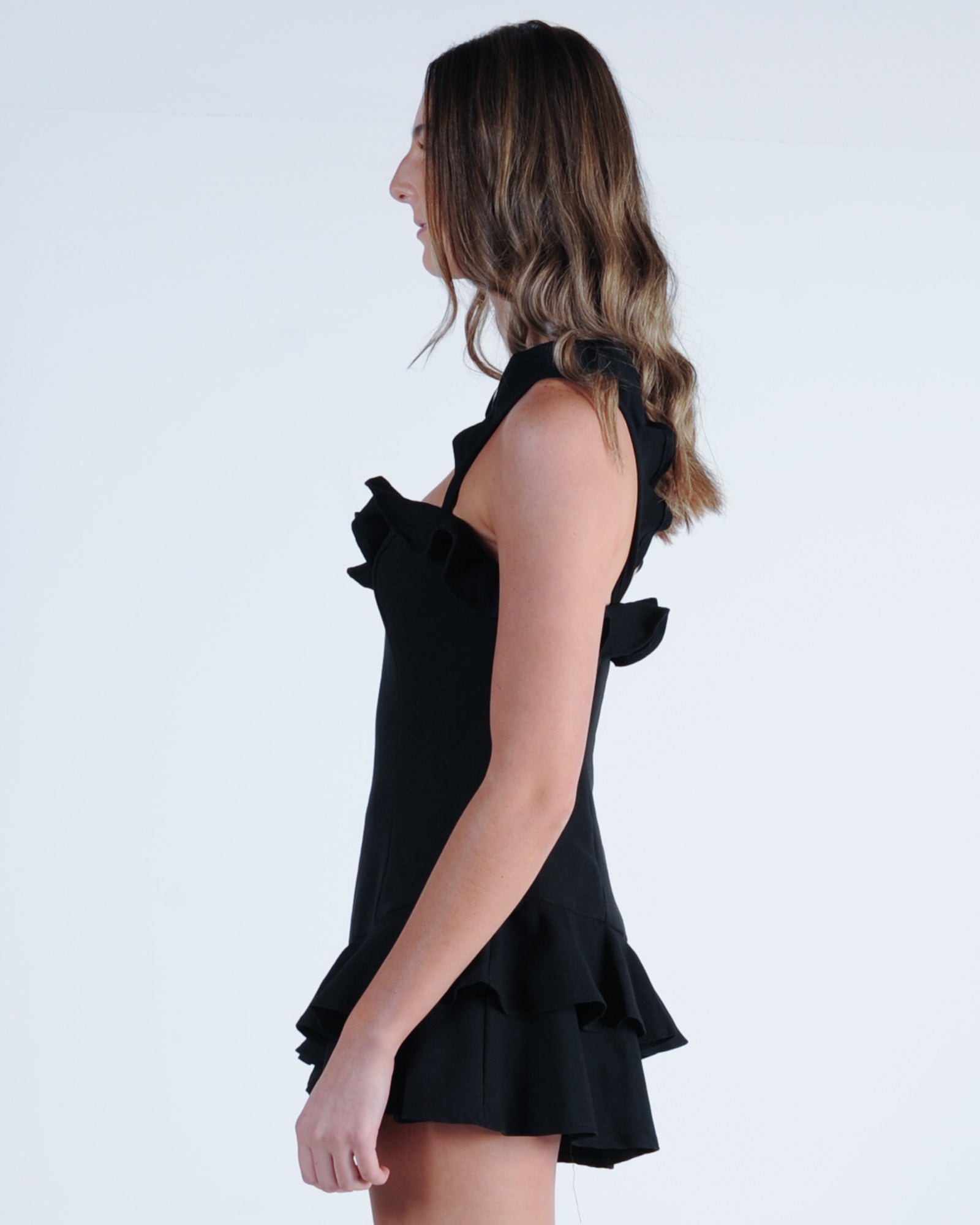 Runway Playsuit - Black