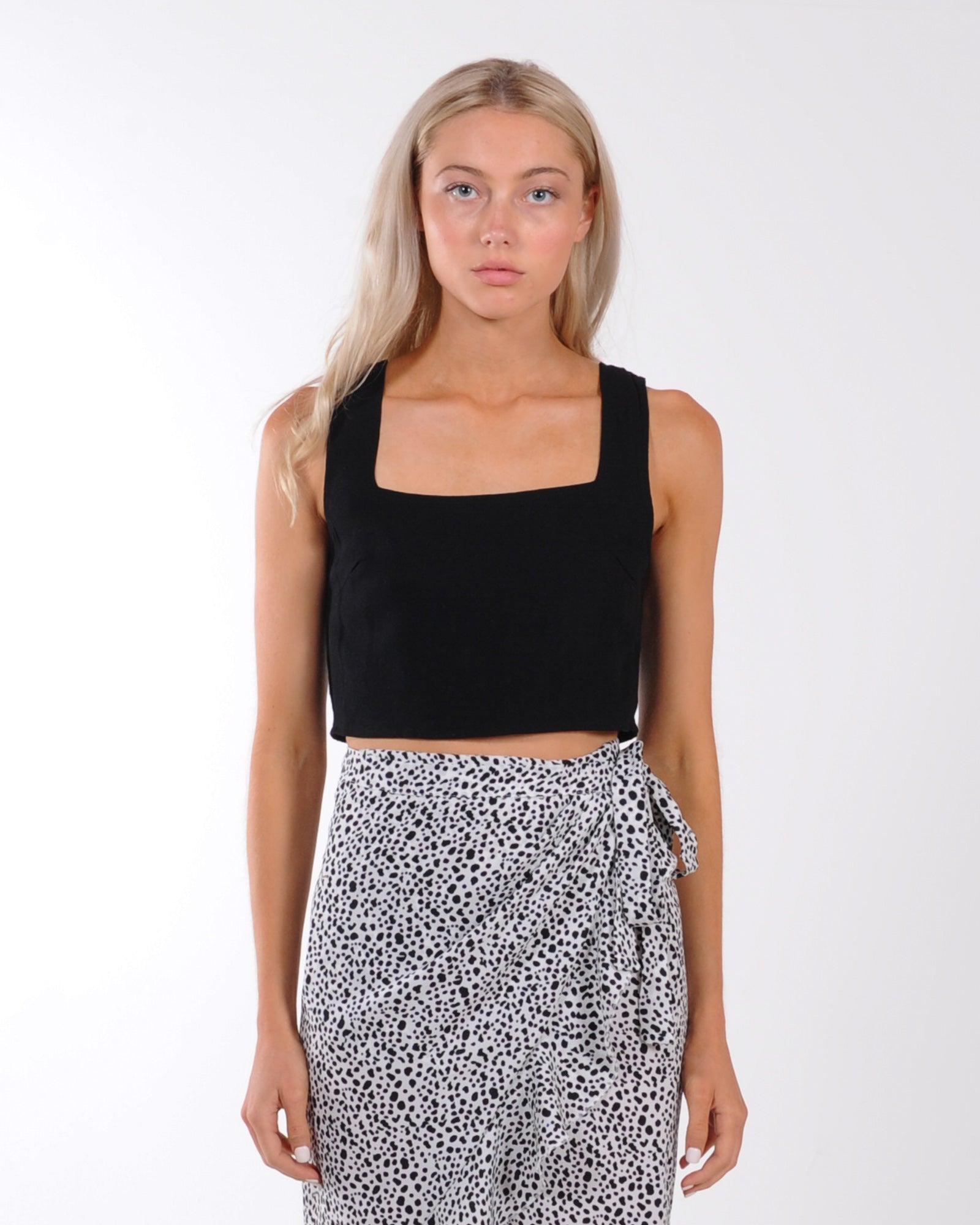 Streets Of Paris Top - Black