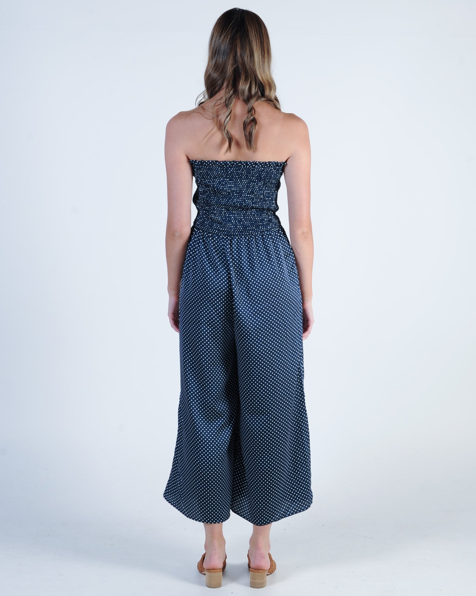 The Fifth Label Fountain Jumpsuit - Navy White