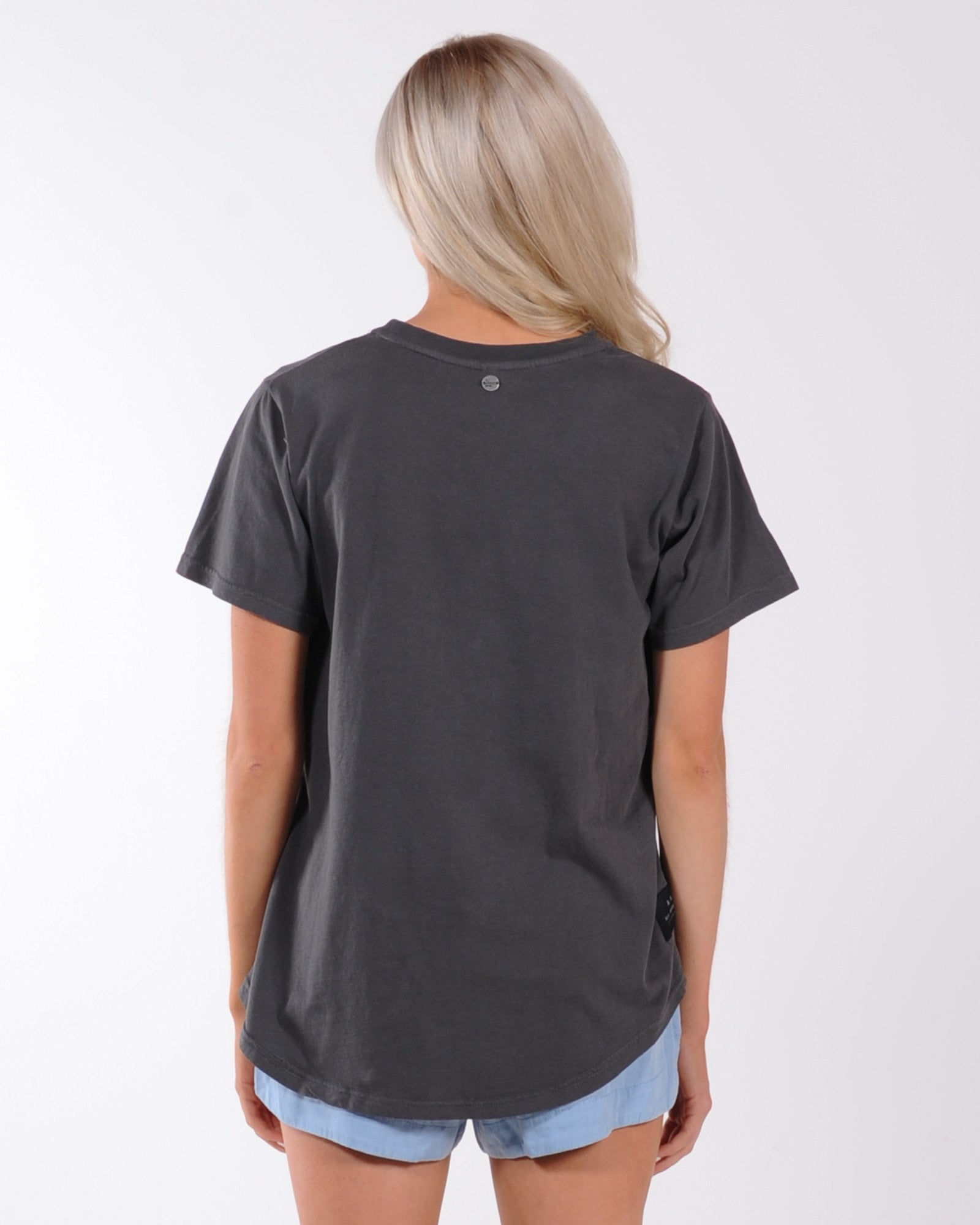 All About Eve The Good Life Tee - Charcoal