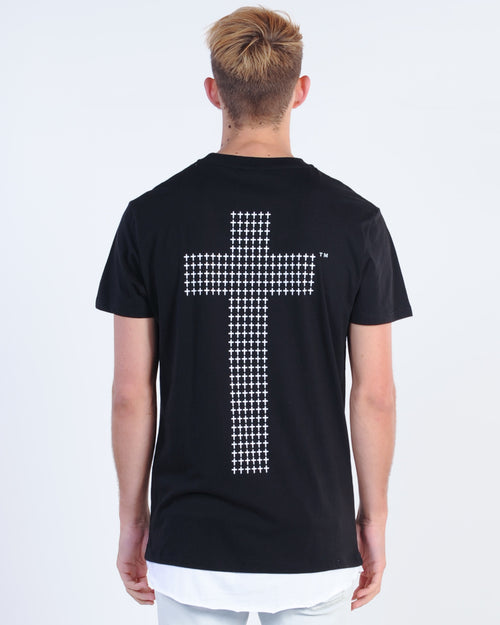 Kiss Chacey Scar Tissue Layered Tee - Jet Black