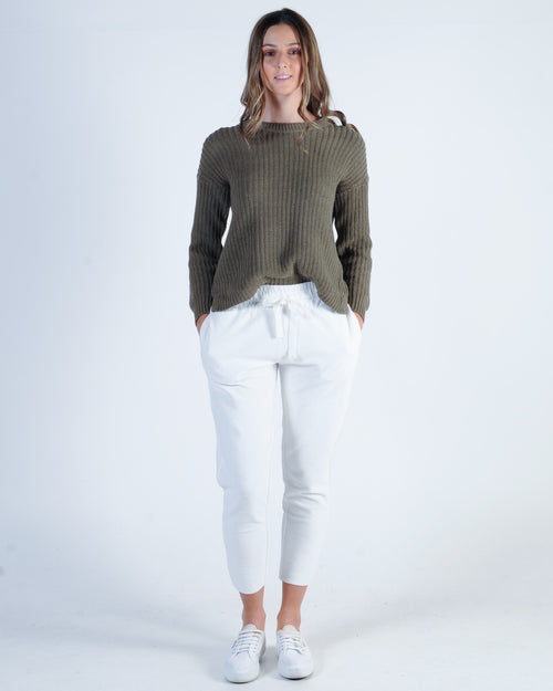 Silent Theory Intern Knit Jumper - Khaki