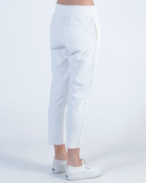 Nude Lucy Turner Textured Pant - Off White