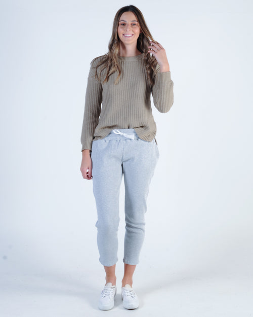 Silent Theory Intern Knit Jumper - Tan