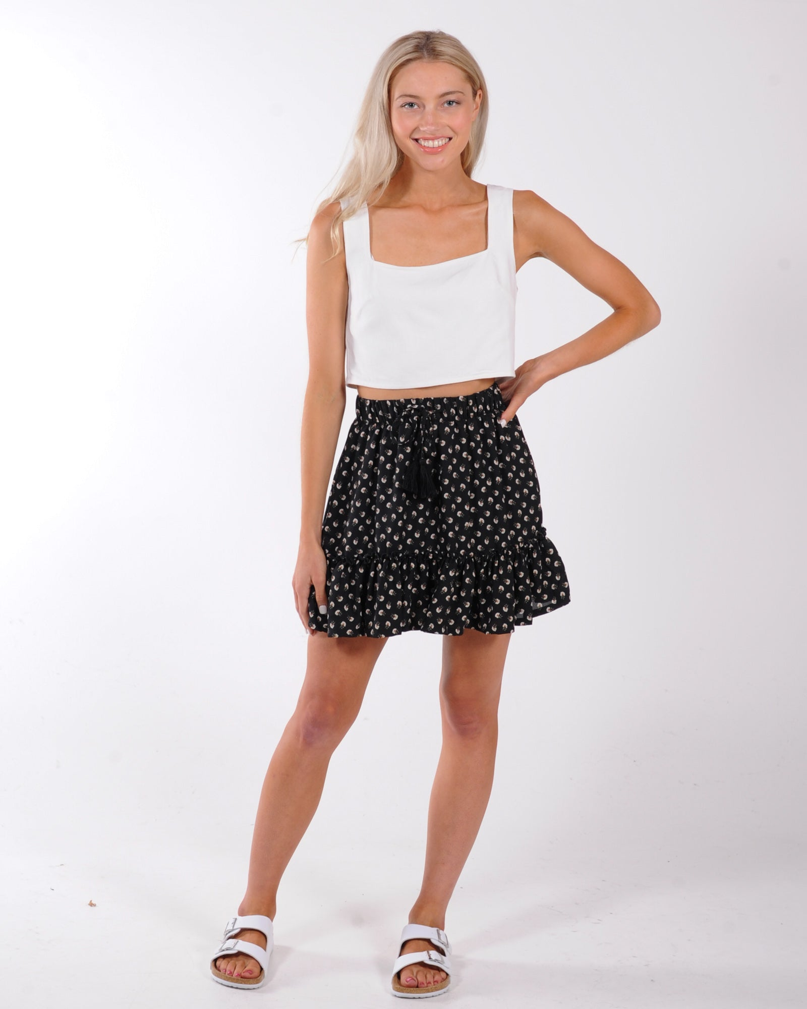 Streets Of Paris Top - White