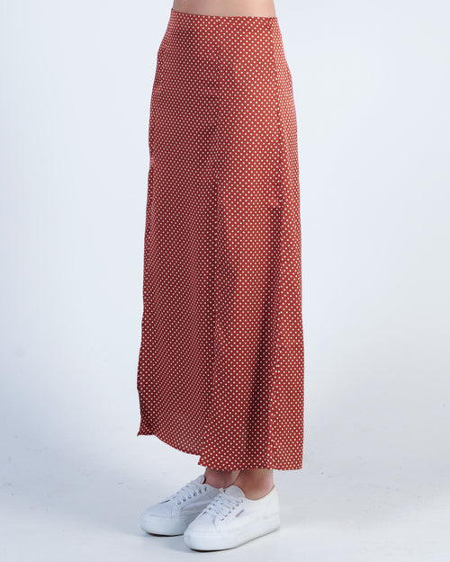 The Fifth Label Fountain Skirt - Rust White