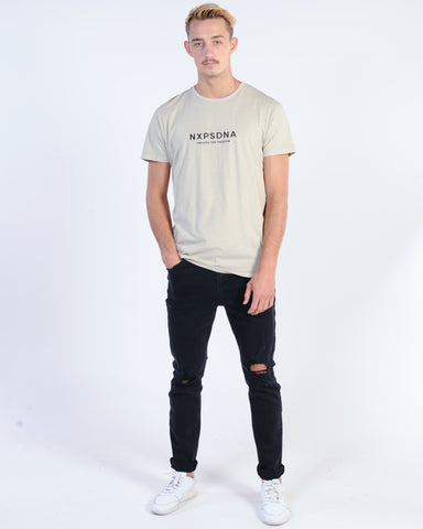 WNDRR DETOX STACKED CUSTOM FIT TEE - BLACK