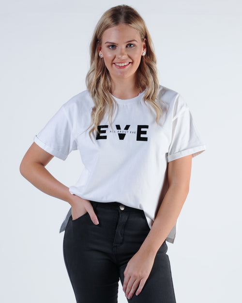 All About Eve Exhibit Tee - White