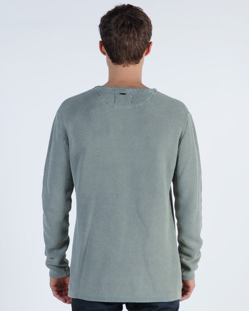 Industrie Washed Culver Knit - Washed Forest