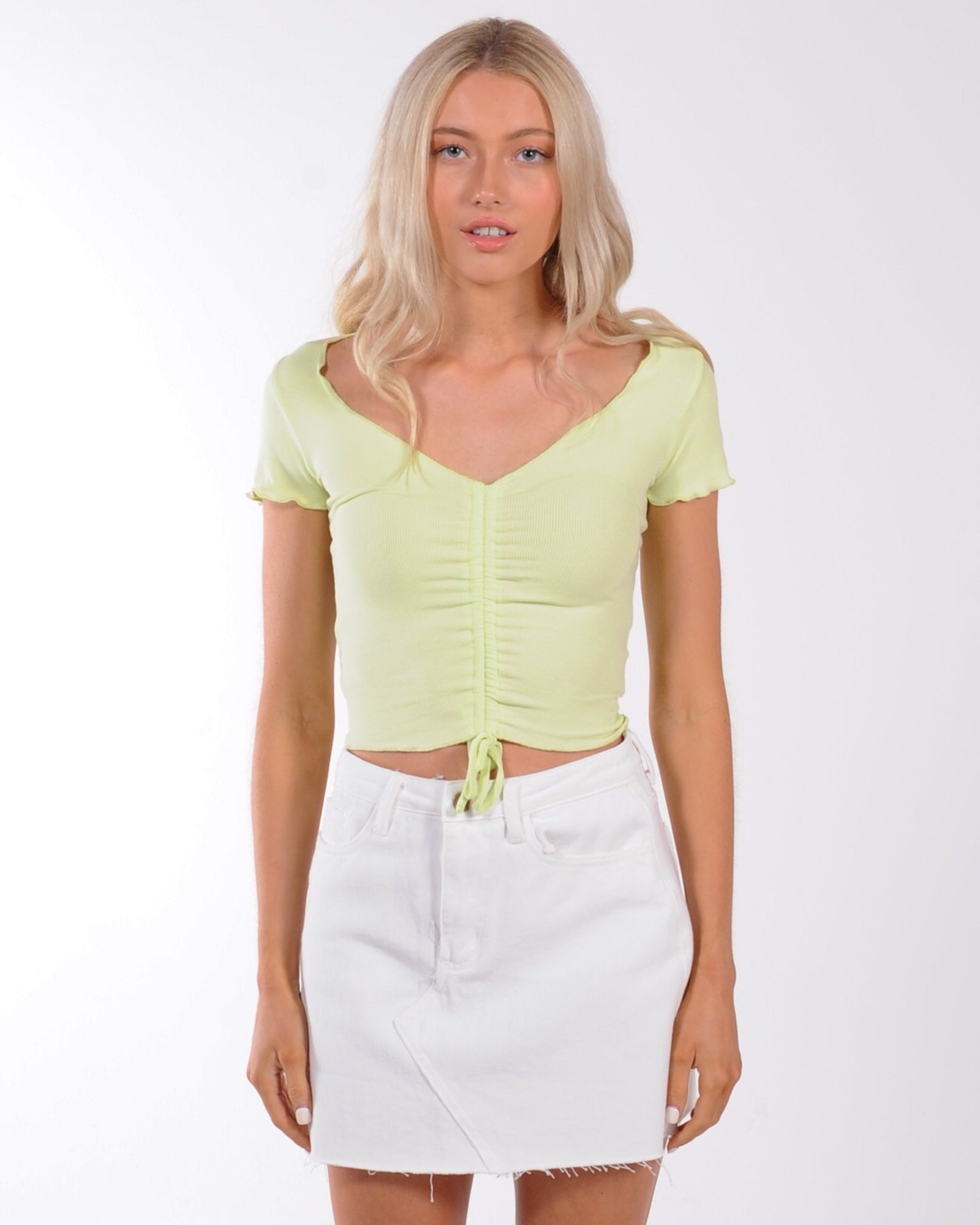 Day Trip Top - Lime