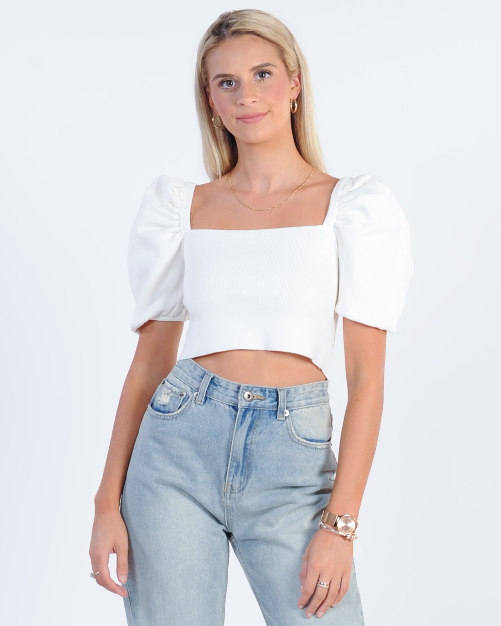 First Date Top - White