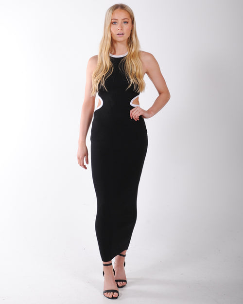 Young At Heart Dress - Black