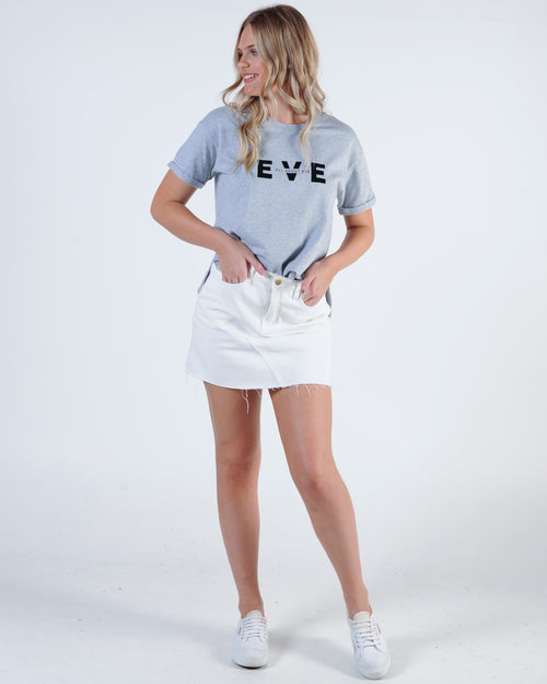 All About Eve Exhibit Tee - Grey Marle