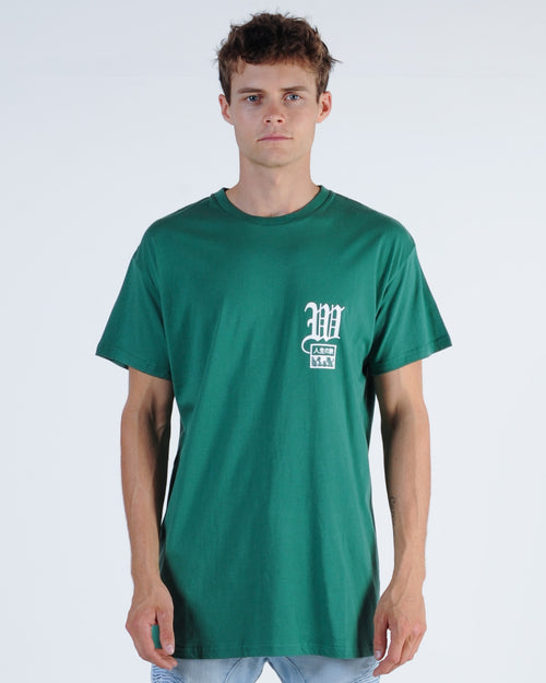 Wndrr Promise Custom Fit Tee - Forest Green