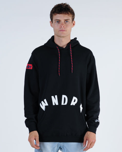 Wndrr Trauma Hood Sweat - Black