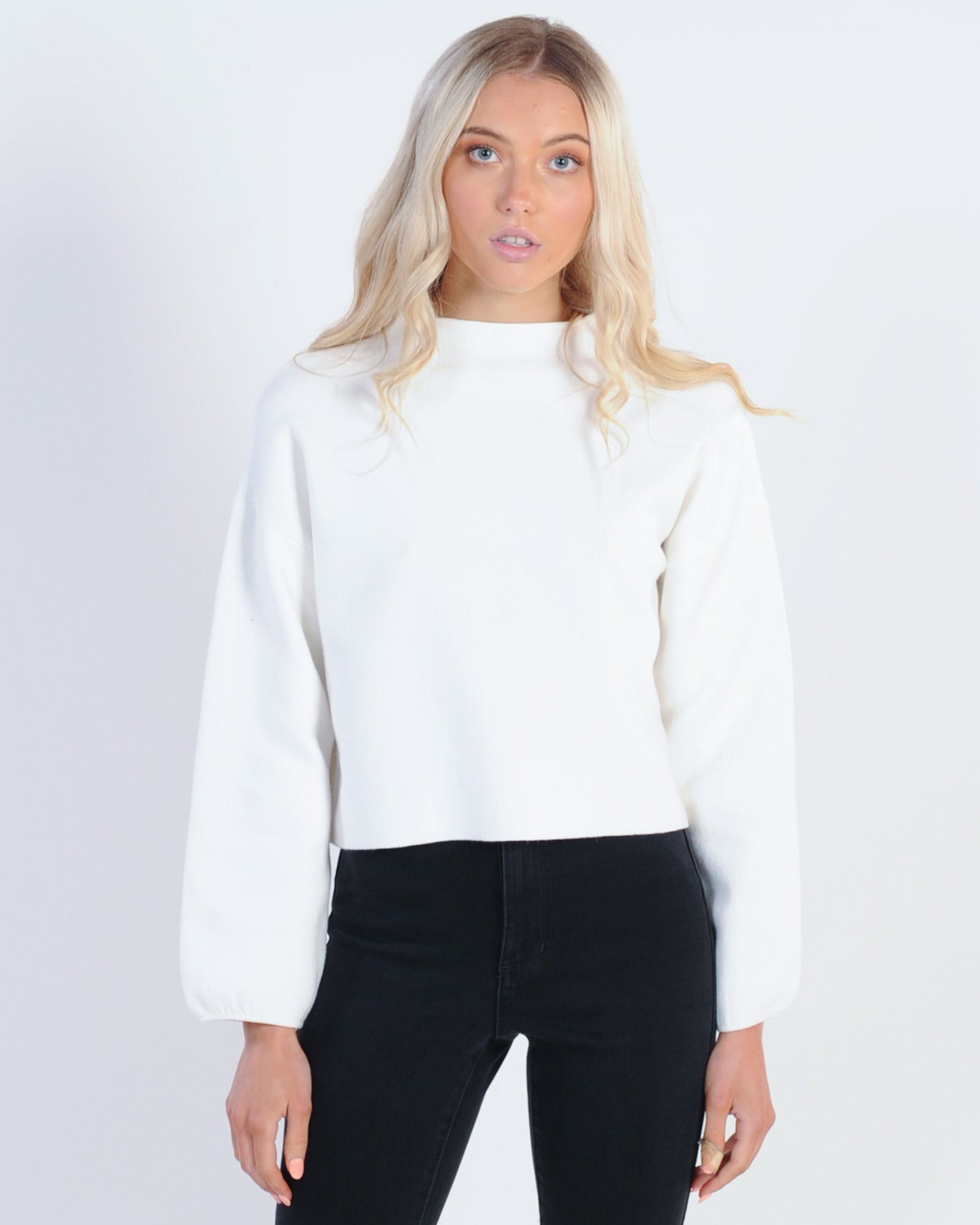 Fresh Start Knit - White