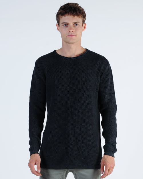 Industrie Washed Culver Knit - Black