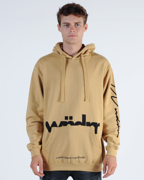 Wndrr Assassin Hood Sweat - Tan
