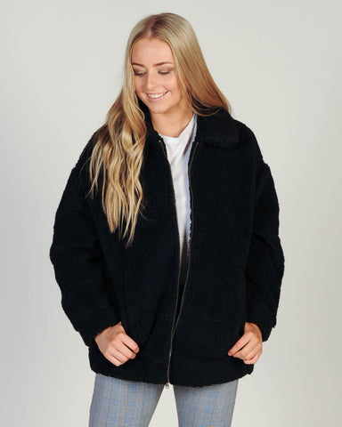 All About Eve Cecelia Jacket - Jade Green