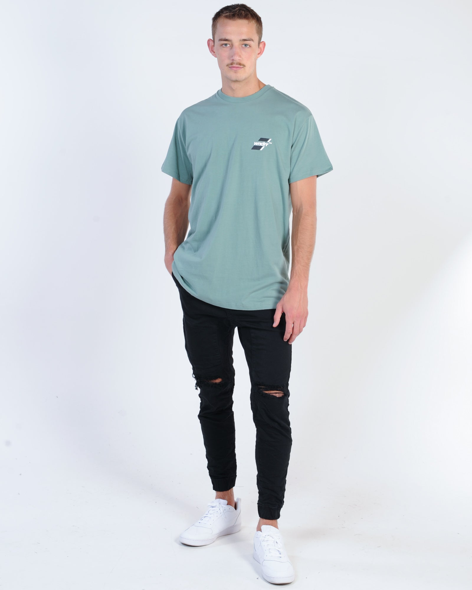 Cigarette Tee - White