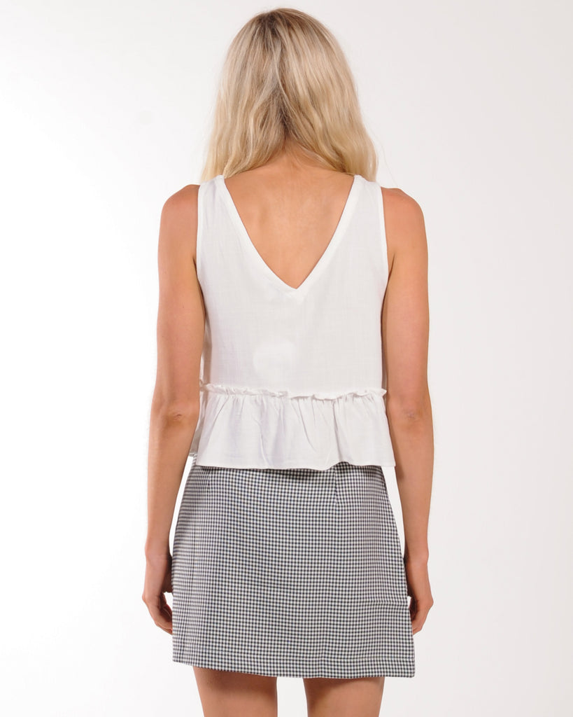 PERFECT EXCUSE TOP - WHITE