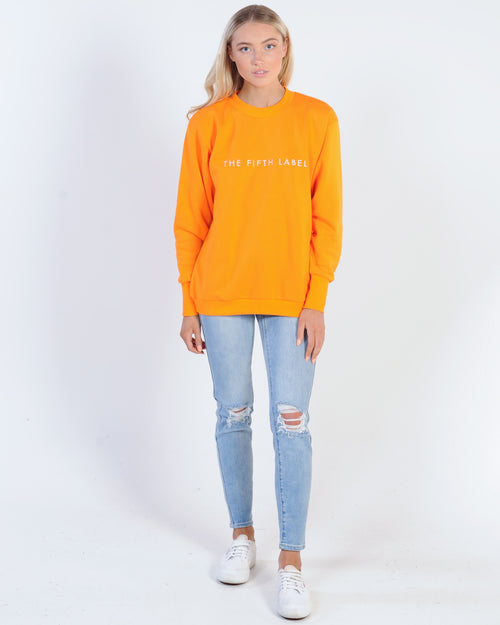 The Fifth Label Flicker Sweater - Orange