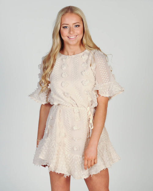 In My Dreams Dress - Beige