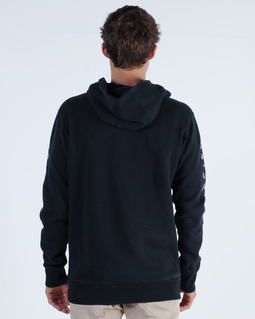 Silent Theory Montinia Hood Sweat - Washed Black