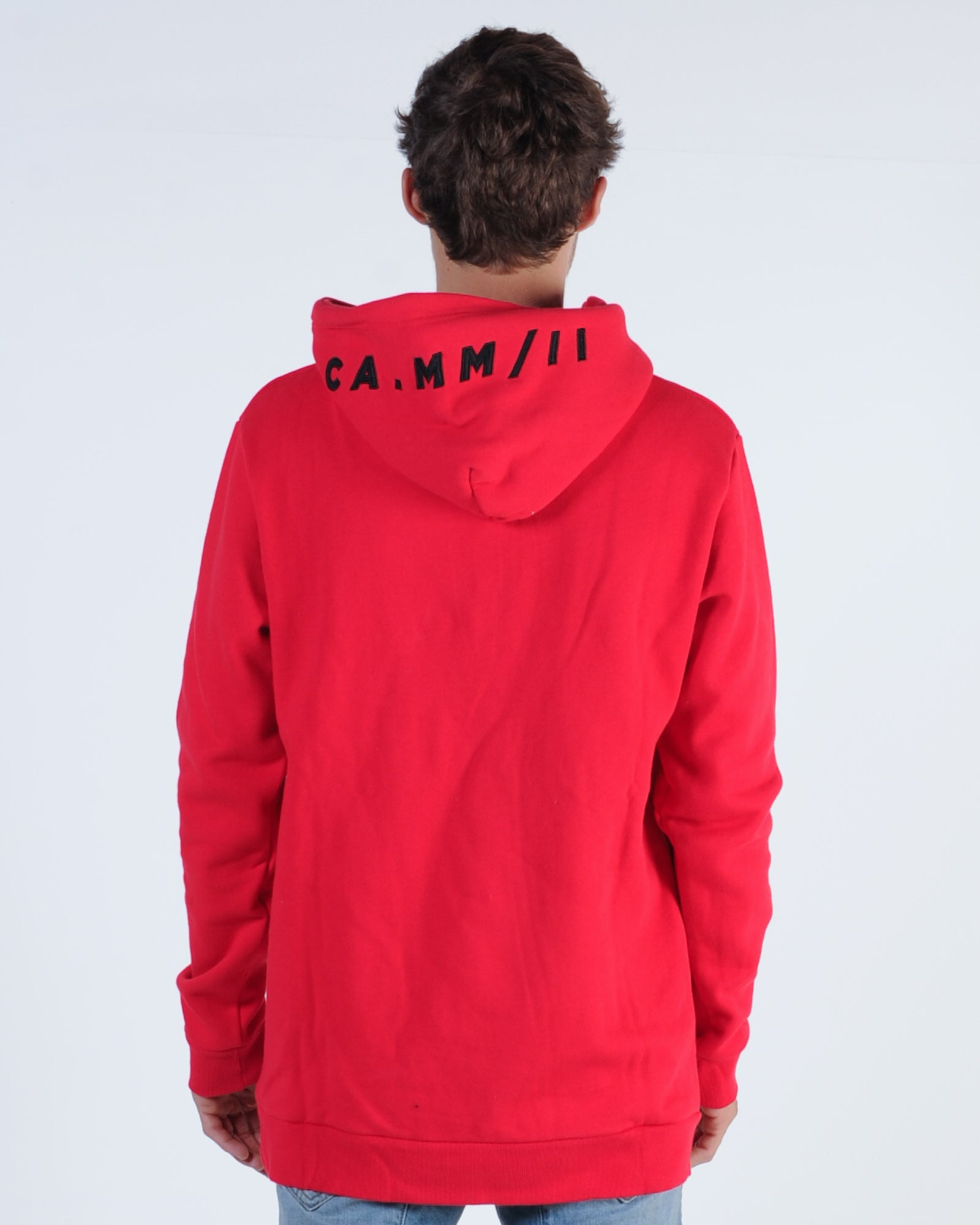 St. Goliath Tenfold Hood Sweat - Red