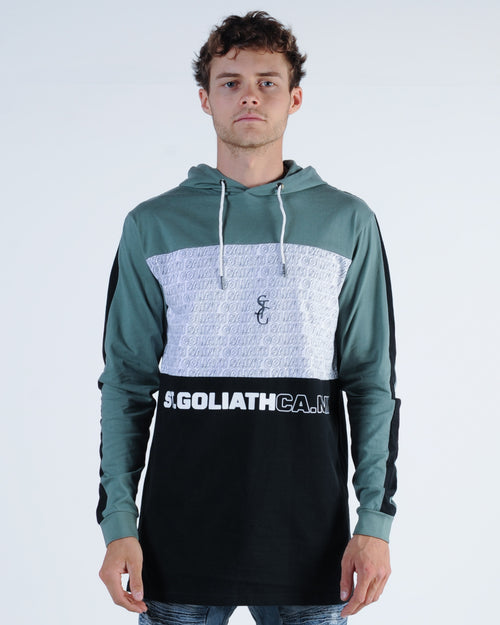 St. Goliath Dozier Hood L/S Tee - Green