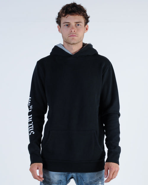 Silent Theory Dub Hood Sweat - Washed Black