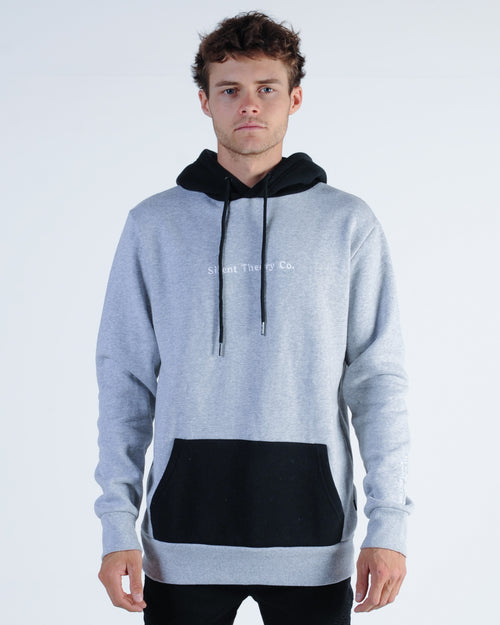 Silent Theory Coma Fleece Sweat - Grey Marle
