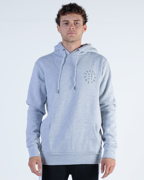 Silent Theory Sphere Hood Sweat - Grey Marle
