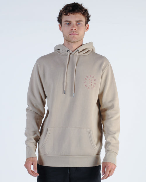 Silent Theory Sphere Hood Sweat - Sand