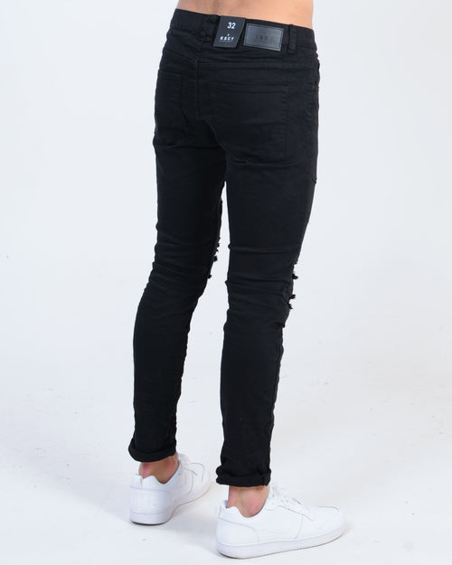 Kiss Chacey Downtown Biker Jean - Jet Black