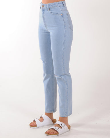 A Brand 94 High Slim Jean - Sunfade