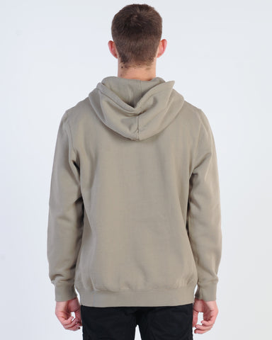 SILENT THEORY EXPECTATIONS S/LESS HOODY - ACID BLACK