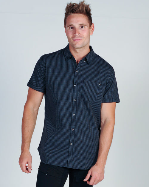 DEACON ERARDI S/S SHIRT - NAVY