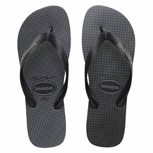 Havaianas Gradient Thong - Black/Steel Grey