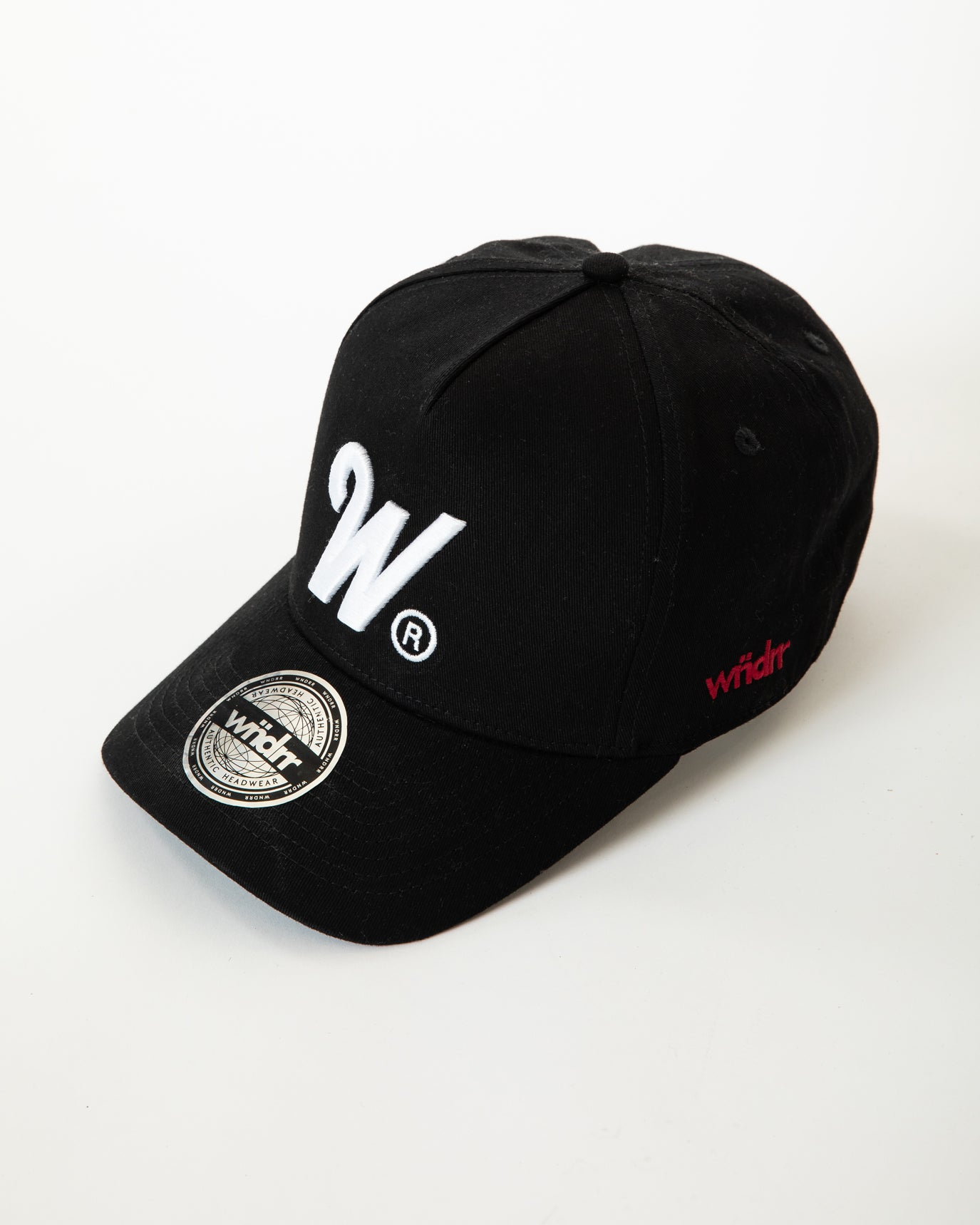 Wndrr Phillips Snapback Cap - Black