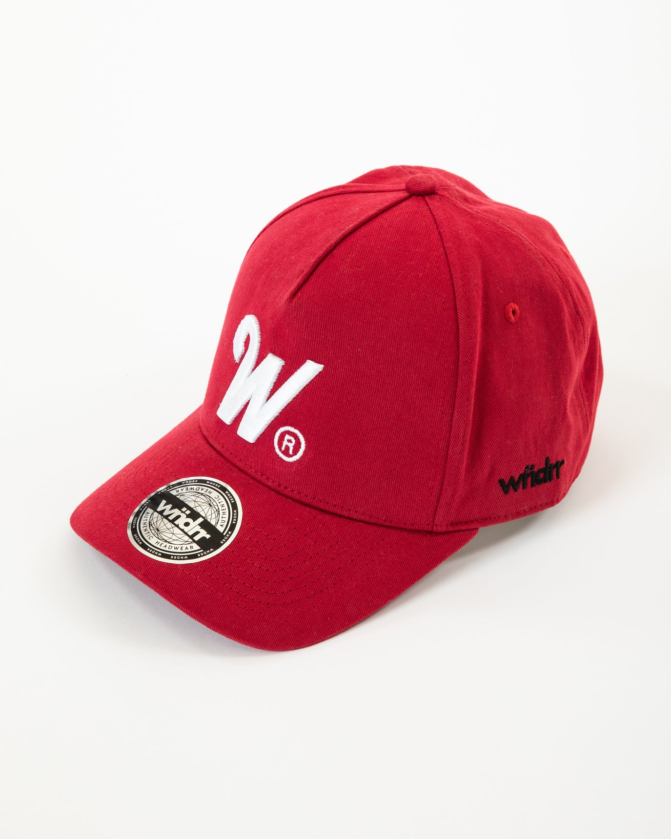 Wndrr Phillips Snapback Cap - Red