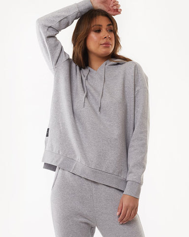 Wndrr Pierre Crew Sweat - Grey Marle