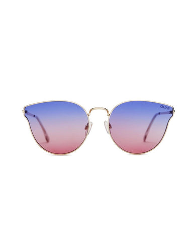 QUAY ALL MY LOVE SUNNIES - GOLD/PURP PINK FADE