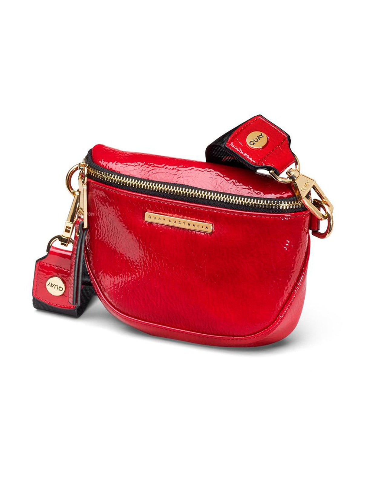 Quay Bum Bag - Red Gold