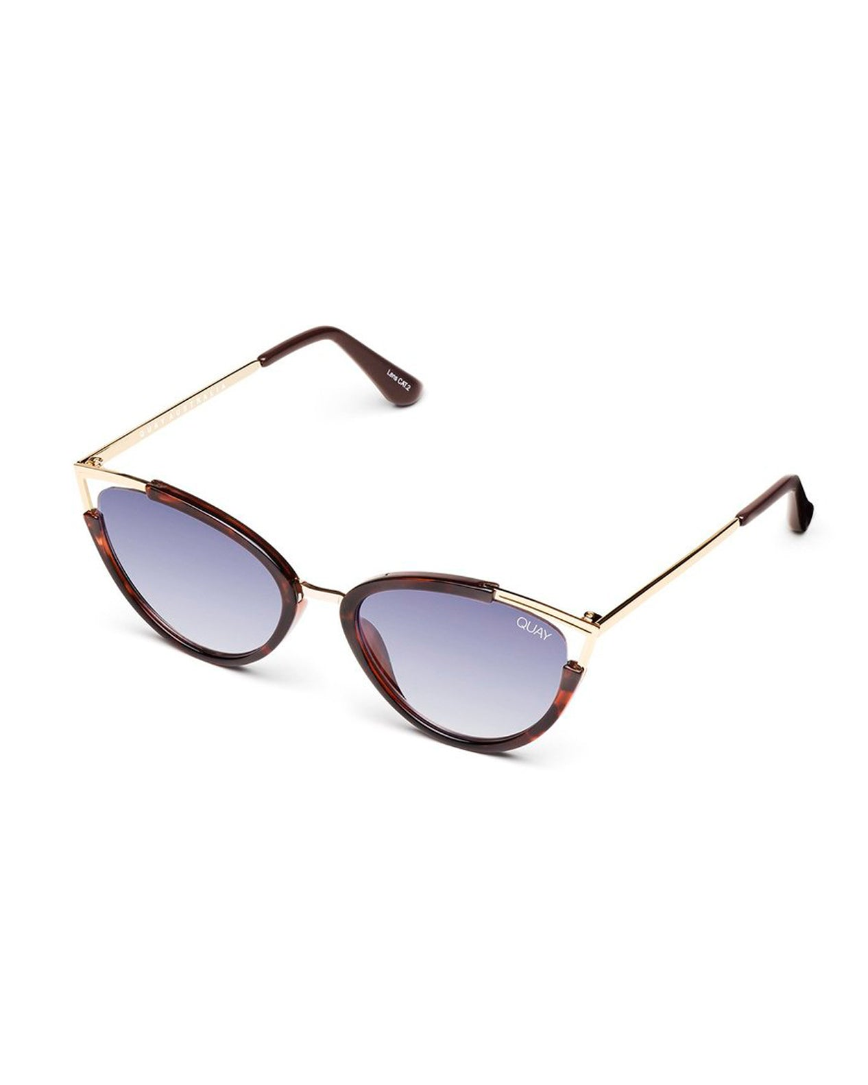 Quay Hearsay Sunnies - Tort Navy